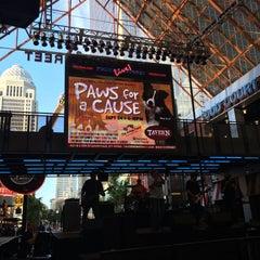 Photo taken at Fourth Street Live! by Melanie R. on 9/24/2015