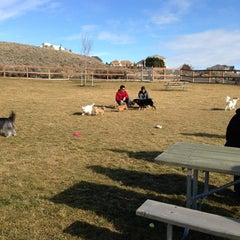 Photo taken at Badger Mountain Dog Park by Cynthia E. on 1/27/2013