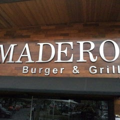 Photo taken at Madero Burger & Grill by Rodolfo T. on 6/15/2013