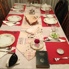 Photo taken at MALCA'S House For Friday Dinner by Motti.  (Mordechai) L. on 1/5/2013
