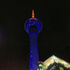 Photo taken at Sky Tower by Yi S. on 4/3/2013