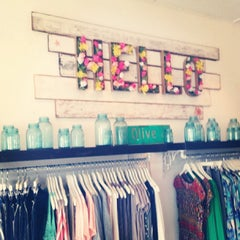 Photo taken at Olive Boutique by OSAFUNE M. on 9/3/2013