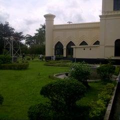 Photo taken at Istana Sultan Siak by Putra M. on 12/14/2014