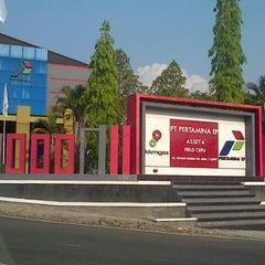 Photo taken at PT. Pertamina EP Field Cepu by Nirmala Dewi on 9/18/2014