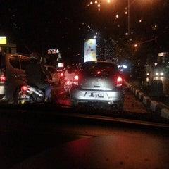 Photo taken at Jalan Margonda Raya by olive t. on 5/16/2014
