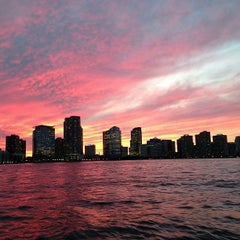 Photo taken at Hudson River by Joshua J. on 8/6/2013