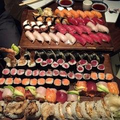 Photo taken at Sushi Taro by Kaladhar B. on 2/4/2015