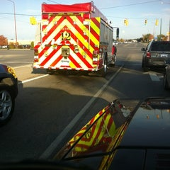 Photo taken at S Division St (US-31/M-37) & S Airport Rd by Joe E. on 10/16/2012