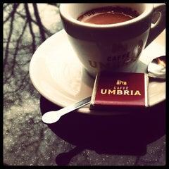 Photo taken at Caffè Umbria by Laurel M. on 1/27/2013