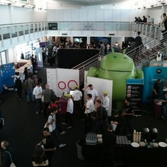 Photo taken at DroidconUK by Edmondo L. on 10/24/2013