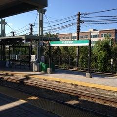 Photo taken at MBTA Riverside Station by Brian B. on 5/27/2013