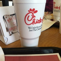 Photo taken at Chick-fil-A by Brandy M. on 1/8/2013