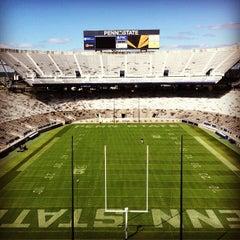 Photo taken at Beaver Stadium by Christopher L. on 9/20/2012