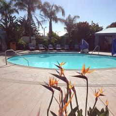 Photo taken at Portola Hotel & Spa by Vino Las Vegas on 6/17/2013