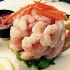 Photo taken at Abalonetti Seafood Trattoria by Vino Las Vegas on 7/13/2015