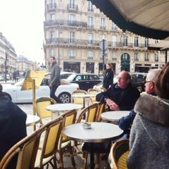 Photo taken at Les Deux Magots by Yasser A. on 2/19/2013