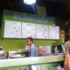 Photo taken at ECHOcafé by JM L. on 5/19/2013