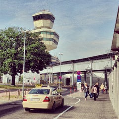 Photo taken at Berlin-Tegel Airport Otto Lilienthal (TXL) by Ben M. on 8/22/2013