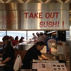 Photo taken at すし京辰 成田空港第1ターミナル制限区域内店 by Erin M. on 3/7/2013