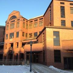 Photo taken at Alumni Memorial Union (AMU) by Father M. on 1/4/2013
