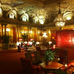 Photo taken at Grand Hotel Plaza by matteo m. on 10/11/2013