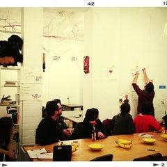 Photo taken at betahaus Hamburg by Christian H. on 2/19/2013