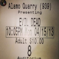 Photo taken at Regal Cinemas Alamo Quarry 16 by Daniel R. on 4/16/2013