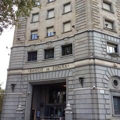 Photo taken at Banco de España by Alex B. on 9/30/2013