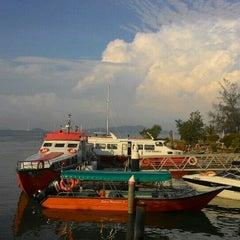 Photo taken at Anjung Batu Jetty - Melaka by Saidatul A. on 5/19/2015