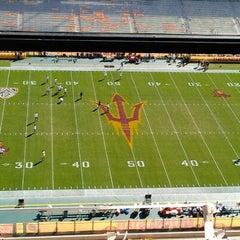 Photo taken at Sun Devil Stadium by Mitch O. on 10/27/2012