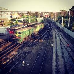Photo taken at Ж/Д вокзал Казань-1 / Kazan Train Station by Ilya G. on 6/29/2013