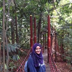 Photo taken at Bukit Nanas Forest Reserve by Suraya R. on 8/3/2015