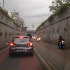 Photo taken at Jalan Sultan Iskandar Muda (Arteri Pondok Indah) by Roy Ferdinand H. on 2/18/2014