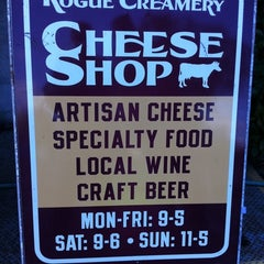 Photo taken at Rogue Creamery by Becca E. on 10/25/2012