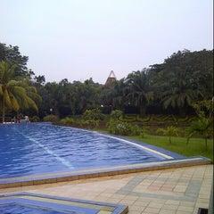 Photo taken at Kolam Renang Sukajadi by Adi N. on 9/19/2012