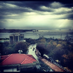 Photo taken at Hilton ParkSA Istanbul by Ceren Y. on 12/1/2012