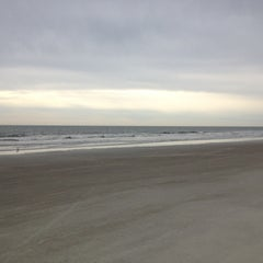Photo taken at Burkes Beach by Eric A. on 4/14/2013