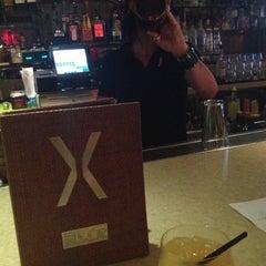 Photo taken at X Bar by gina m. on 10/16/2012
