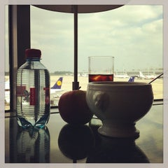 Photo taken at Brussels Airlines Business Lounge by CoolBurning on 6/10/2013