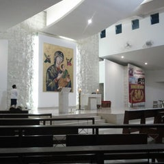 Photo taken at Igreja São Raimundo by Luis E. on 1/26/2013
