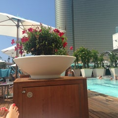 Photo taken at Water Club Pool by Steph A. on 7/23/2014
