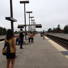 Photo taken at Rockridge BART Station by Zachary L. on 10/20/2012