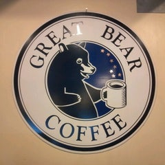 Photo taken at Great Bear Coffee by Sean S. on 2/8/2013