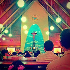 Photo taken at Gereja Katolik Roh Kudus by Dq L. on 8/25/2013