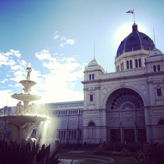 Photo taken at Royal Exhibition Building by Longyi C. on 7/8/2013