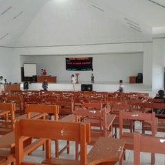 Photo taken at Gedung Kuliah Bersama (GKB) UNIMA by Octavia Regina R. on 10/9/2012