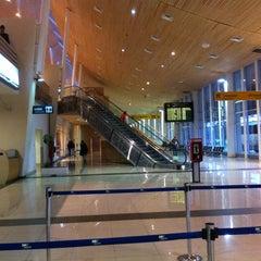 Photo taken at Aeropuerto Internacional El Tepual (PMC) by María Pastora S. on 5/29/2013