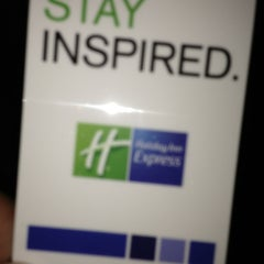 Photo taken at Holiday Inn Express Lancaster-Rockvale Outlets by Robert R. on 8/9/2013