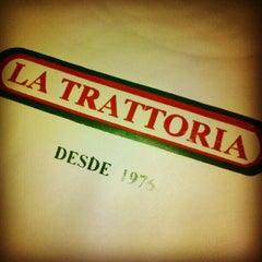 Photo taken at La Trattoria by Marcello C. on 1/6/2013