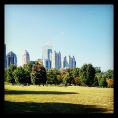Photo taken at Piedmont Park by Jesse M. on 10/13/2012